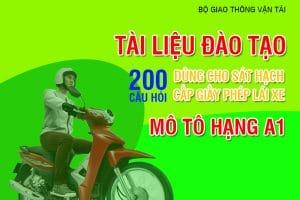 200 câu hỏi thi sát hạch lái xe máy
