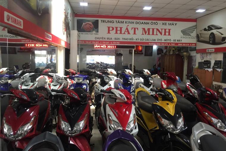 Phát Minh mang đến nhiều mẫu xe SH cũ giá tốt