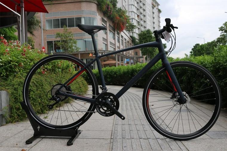 Thiết kế của xe đạp này tối ưu cho việc luyện tập thể dục thể thao hay cả việc di chuyển để đi làm