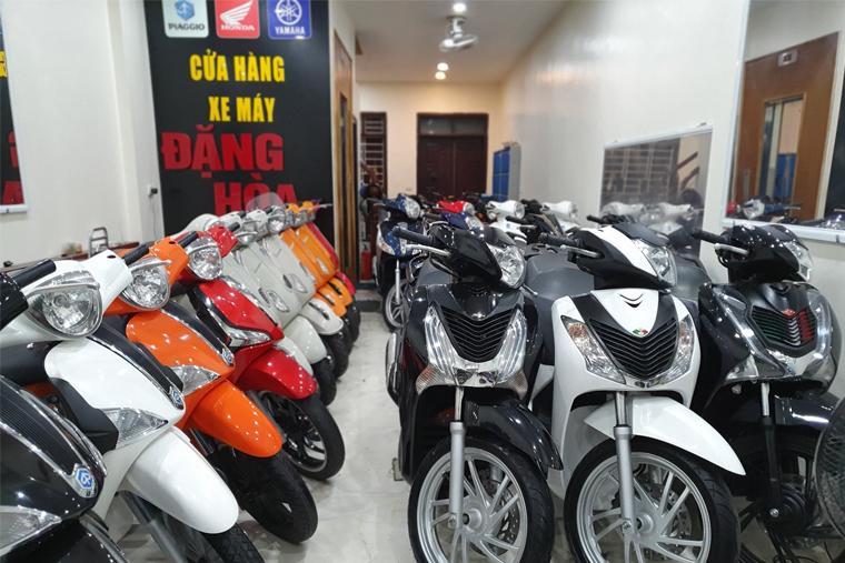 Xe máy Đặng Hòa có đa dạng xe SH cũ
